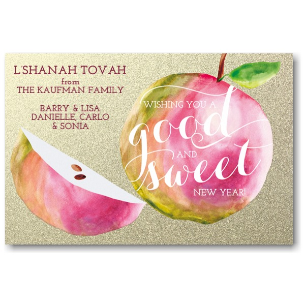 A Sweet New Year Jewish New Year Card Icon
