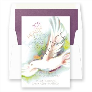 Dove of Peace Rosh Hashanah Card