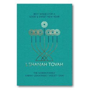 Nimbus Jewish New Year Card Icon