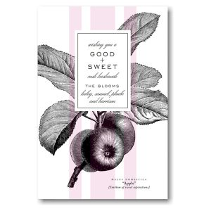 Sweet Aspirations Jewish New Year Card Icon
