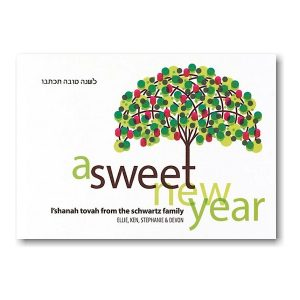 A Sweet New Year Rosh Hashanah Card Icon