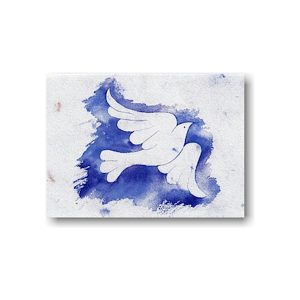 Dove of Peace Jewish New Year Card Icon