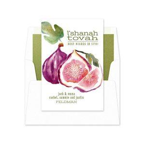 Fruitful Wishes II Jewish New Year Card
