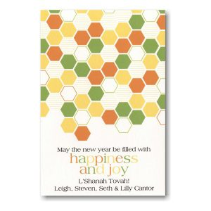 Paved with Joy Jewish New Year Card Icon