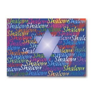 Shalom Rosh Hashanah Card Icon